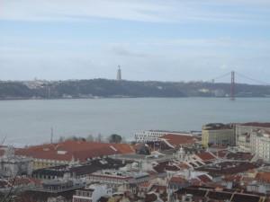 city, lisboa, bridge