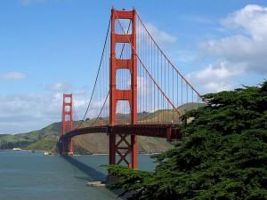 golden, gate, bridge, Francisco