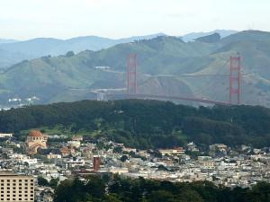 golden, gate, bridge, twin, peaks