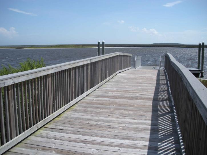 pier, floating, dock