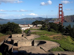 ase, Presidio, bridge, golden, torneineen, gate
