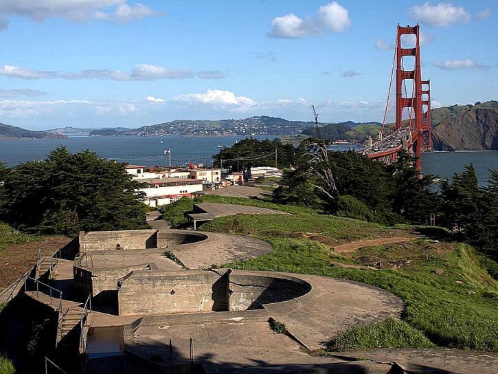 Presidio, όπλο, πυργίσκους, Χρυσή, πύλη, γέφυρα