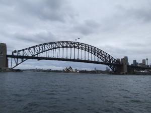 sydney, puerto, puente, ópera, casa, australia