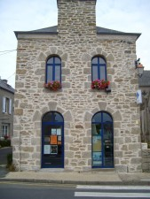 old, stone, building