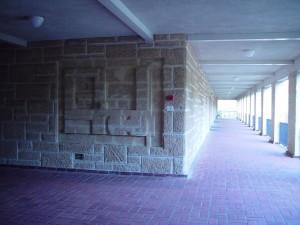 rakennus, kartta, kaiverrettu, kalkkikivi, wall