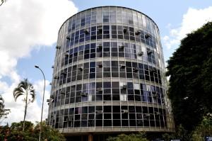 circular, building, glass, facade