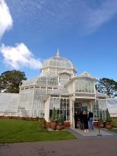 conservatory, flowers, golden, gate, park, Francisco