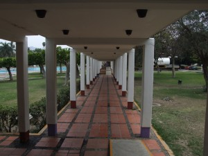 covered, pathway, centro, vacacional, oaxtepec