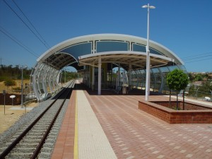 currambine, railway, station