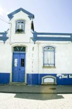 agréable, peint, bâtiment
