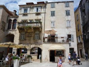 vieux, bâtiments, centre touristique,