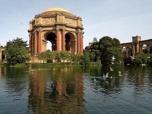 palace, fine, arts, Francisco
