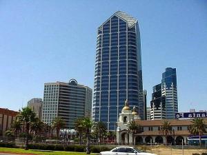 Diego, buildings, high, rise, skyline