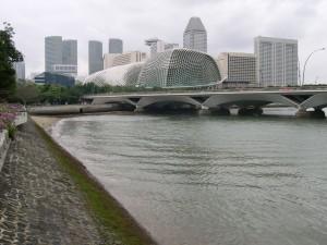 singapore, culturel, centre, bâtiment