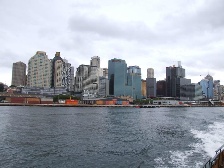 sydney, paysage urbain, l'Australie