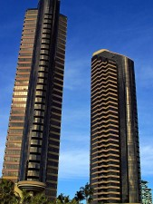 towers, skyscrapers, buildings