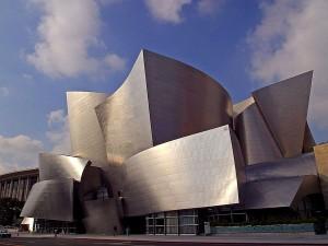 walt, disney, concert, salle, Angeles