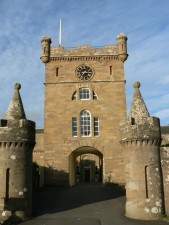 castle, entrance