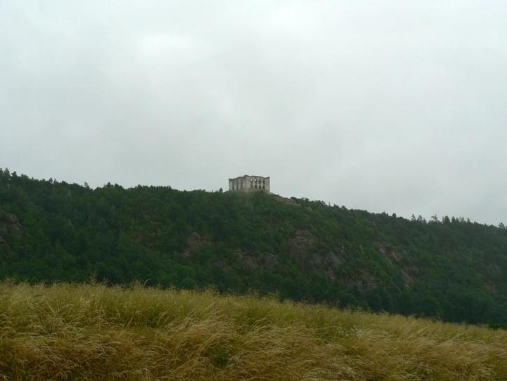 château, colline