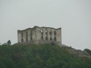 castello, rovine, vecchio, rovine