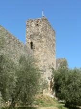 castello, parete, torre