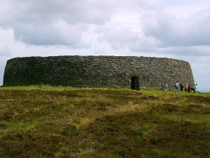 griahan, Aileach, pietra, forti, Irlanda