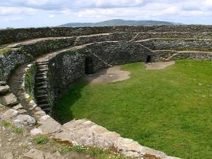 griahan, aileach, stone, fort