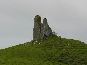 hills, castles, ruins