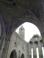 rock, cashel, church