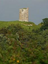 irish, castle