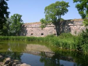 lago, fortificaciones, Suomenlinna, Helsinki