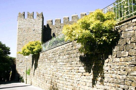 Старый, крепость, стены