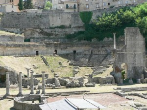 roman, theatre