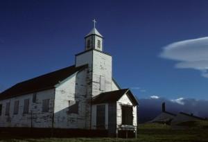 aléute, église