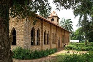 baptist, église, Congo, Afrique
