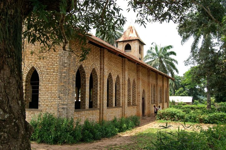 baptist, church, Congo, Africa
