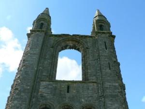 cathédrale, avant, l'architecture
