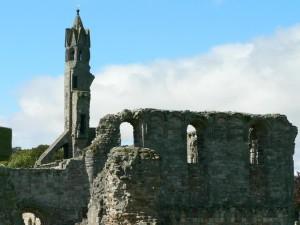 cathédrale, ruines