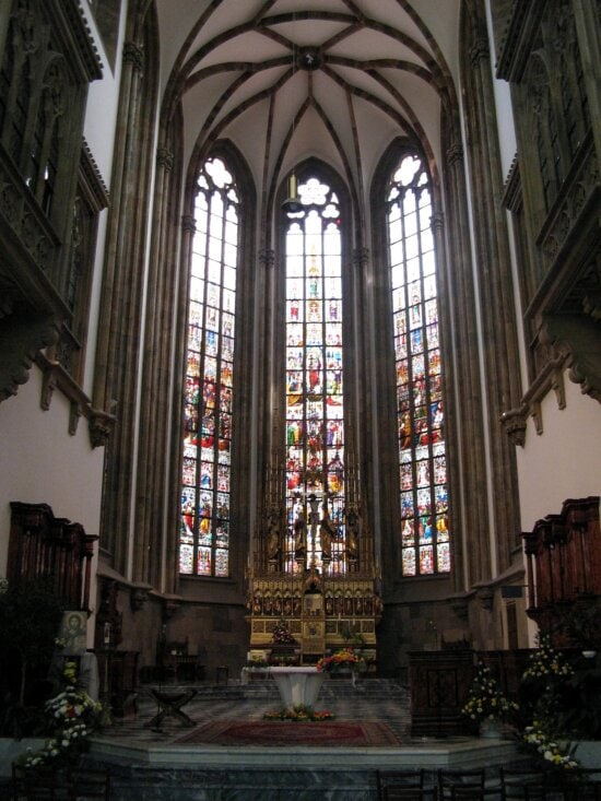 cathedral, window,