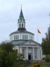 église, vieux, ville