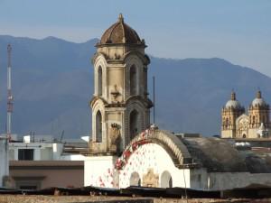church, spires