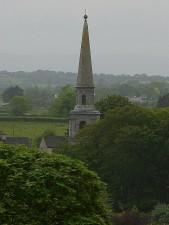 Kirche, Türme, Form, Abstand