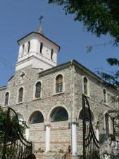 église, blanc, pierre, architecture, vieux