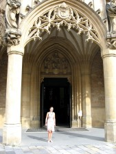 Gotika, crkva, vrata