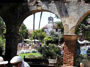 mission, Capistrano, church, arches