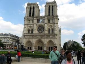 Notre Dame, church