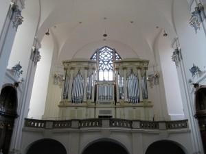 organ, church