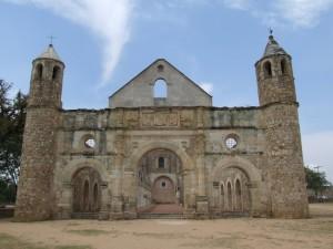 ruined, monastery
