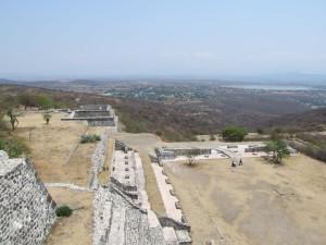 ruines, Xochicalco, temple