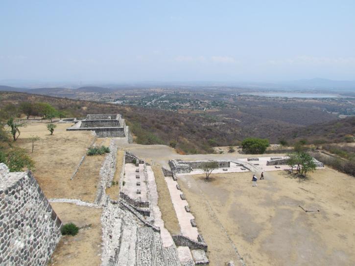 ruins, Xochicalco, temple
